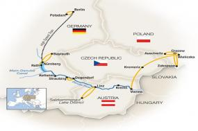 Royal Danube, Berlin & Kraków - Westbound 2018 tour