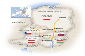 Warsaw, Budapest, Vienna & Prague 2018 tour