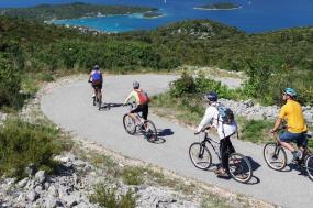 Cycling the Dalmatian Coast tour