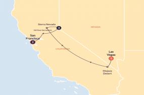 California Highlights (Winter) tour