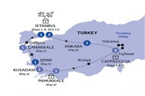Wonders of Turkey (Winter 2018-19) tour