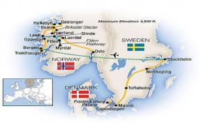 Scandinavia 2018 tour