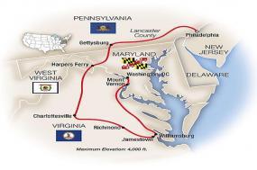 In Freedom's Footsteps: Philadelphia to Washington, DC 2018 tour