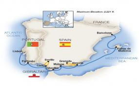Treasures of Spain and Portugal - Eastbound 2018 tour