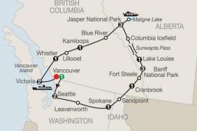 Western Canada Explorer tour