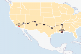 Southern Adventure (Start Los Angeles) tour