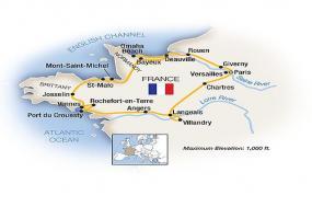 Normandy, Brittany, Paris & the Loire Valley 2018 tour