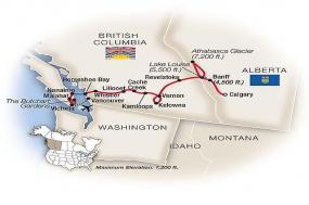 Canadian Rockies, Whistler & Victoria 2018 tour