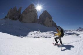 Snowshoeing in the Dolomites tour