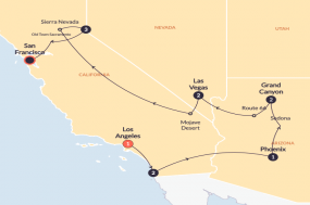 LA to the Bay  (Winter) tour