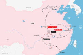 Grand China and the Yangtze tour