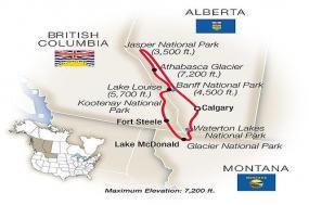 Canadian Rockies & Glacier National Park 2018 tour