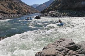 Salmon River Rafting tour