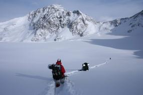 White Mountains Ice Climbing Basics tour