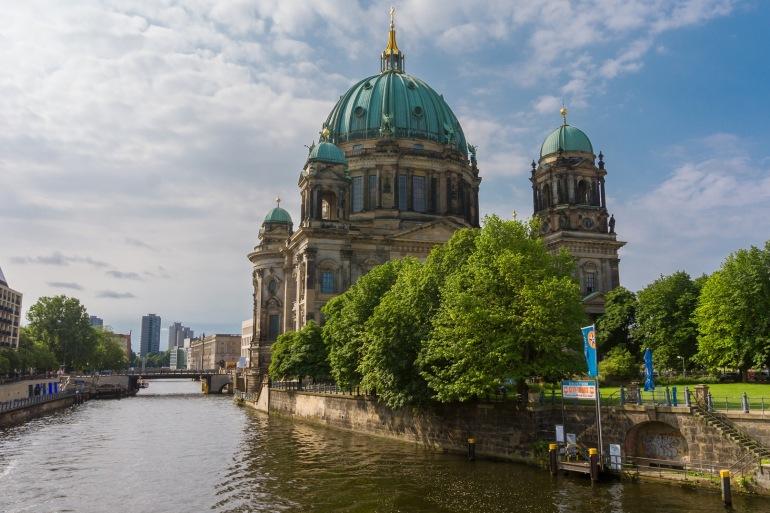 Church view of Berlin, Europe