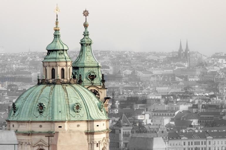 Scenery of Prague, Europe