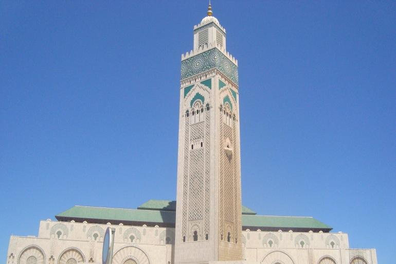 Beautiful Hassan II Mosque, Casablanca