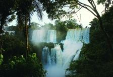 Touring the Argentina side of Iguazu Falls