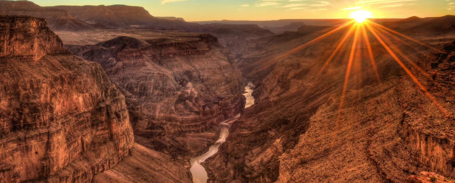 Grand Canyon sunset North America tours and vacations