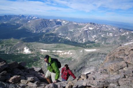 Rocky Mountain Long's Peak Backpacking
