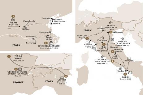 La Serenissima with Venice Simplon Orient Express (Summer 2018)