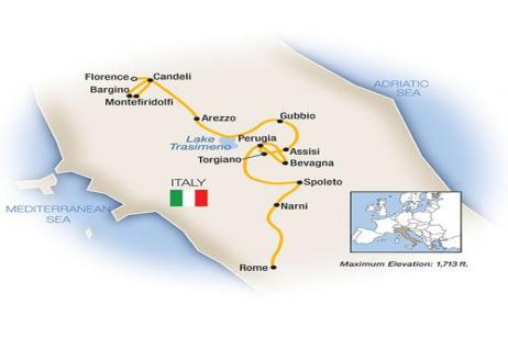 A Week In... Tuscany & Umbria 2018 tour