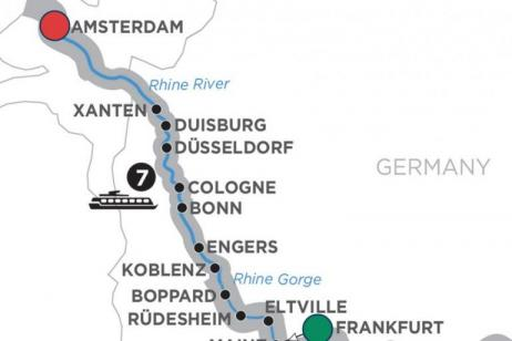 Active Discovery on the Rhine  Northbound