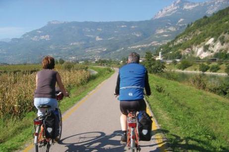 Cycle Bolzano to Verona