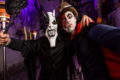 Dracula's Halloween Party in Transylvania