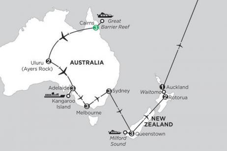 Aussie Adventure with Queenstown, Rotorua & Fiji