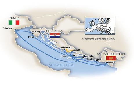 Venice & the Dalmatian Coast 2019