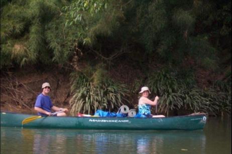 Overnight Canoeing tour