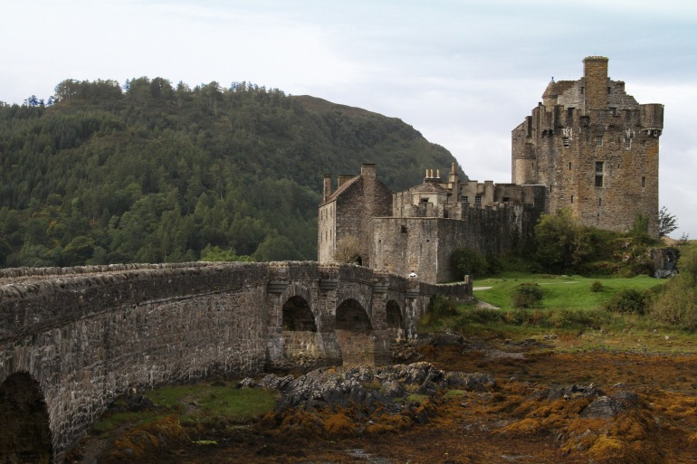 Eilean Donan Castle in United Kingdom, Europe