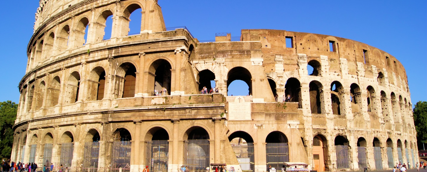 Italy top tour attraction, the Colosseum in Rome