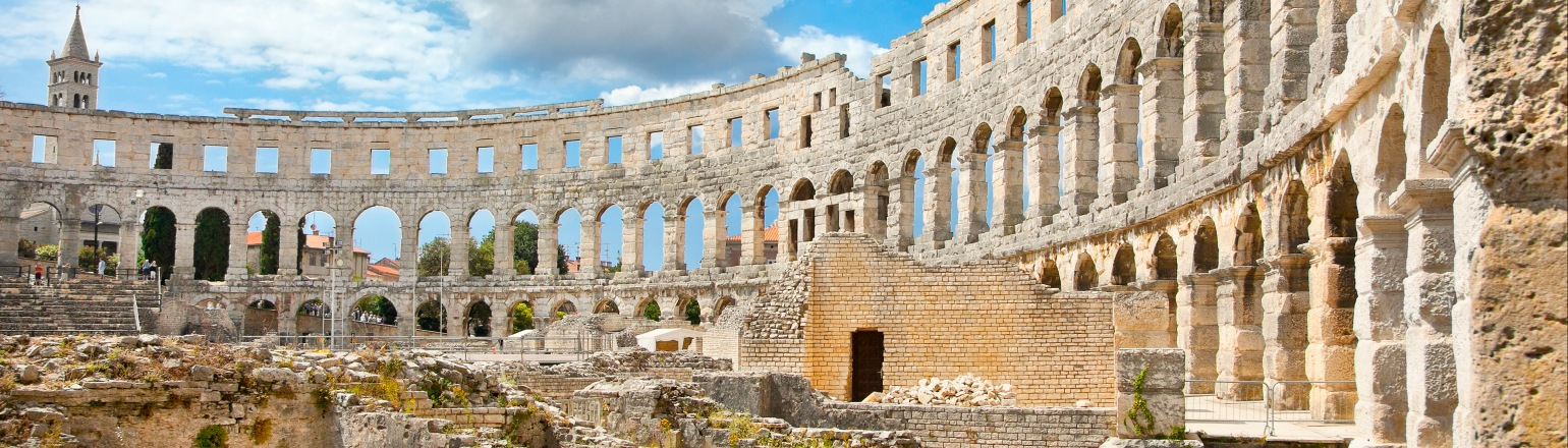Roman Ruins in Italy on top archaeology tour