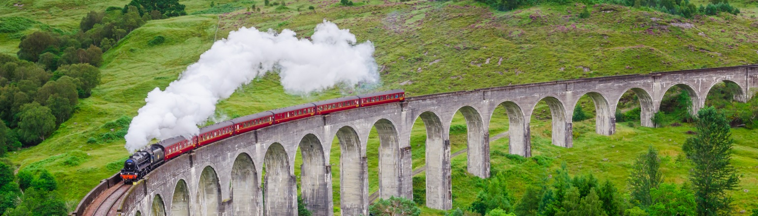 Harry Potter train in scotland Train and rail journeys tours