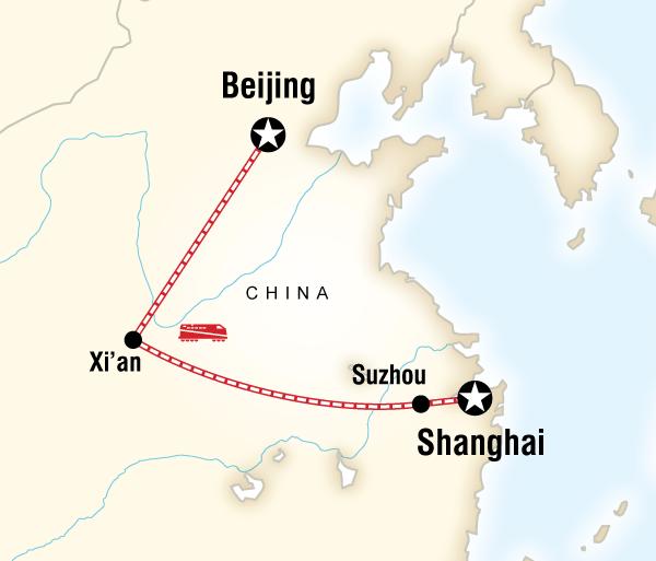 Beijing Nanjing Beijing to Shanghai Adventure Trip
