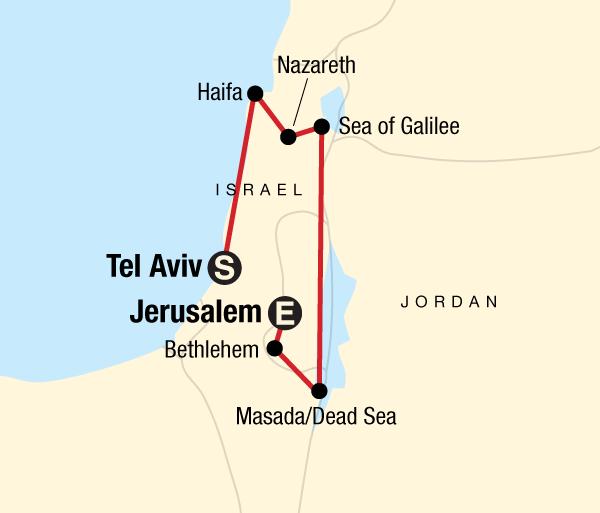 Bethlehem Cork Israel Explorer Trip