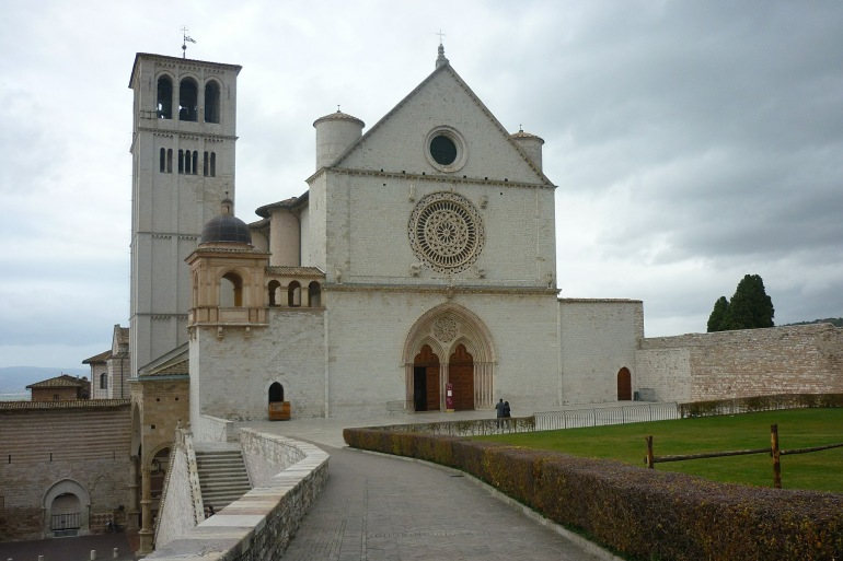 St Francis Of Assisi, Italy_P