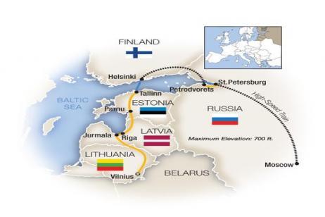 Russian Glories, Baltic Treasures 2018 tour
