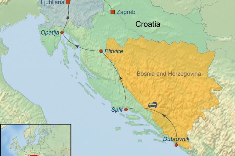 Dubrovnik Ljubljana Best Of Adriatic Trip