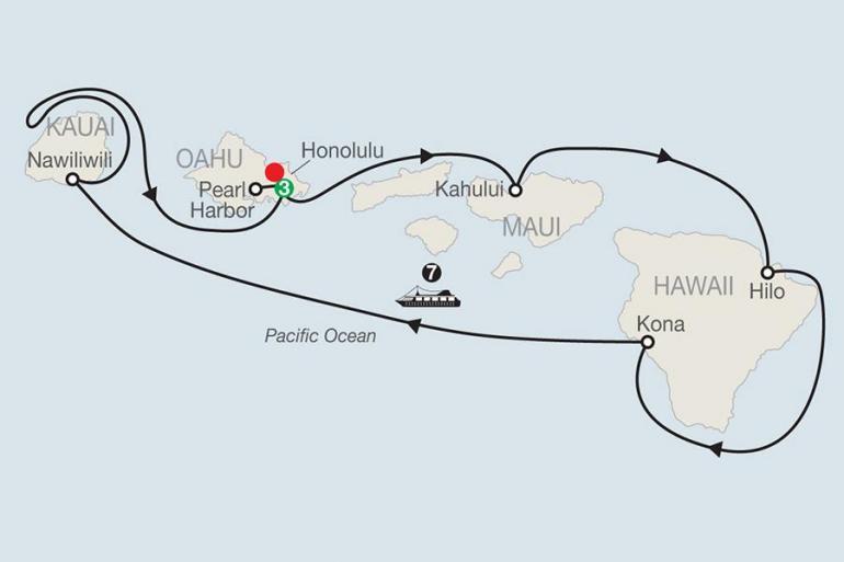 Hawaii Kona Cruising Hawaii's Paradise with Outrigger Waikiki Beach Resort Trip