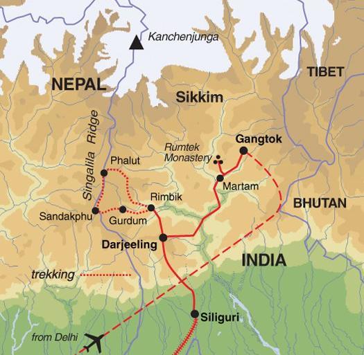 Cultural Culture Darjeeling, Sikkim & the Singalila Ridge package