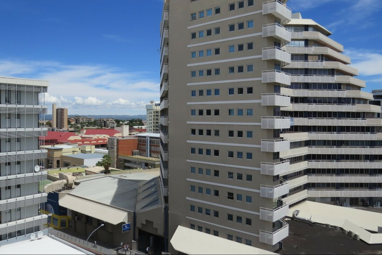 City view of Windhoek, South Africa