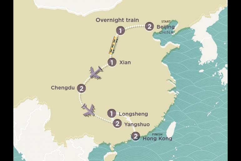 Chengdu Great Wall of China China Live Trip