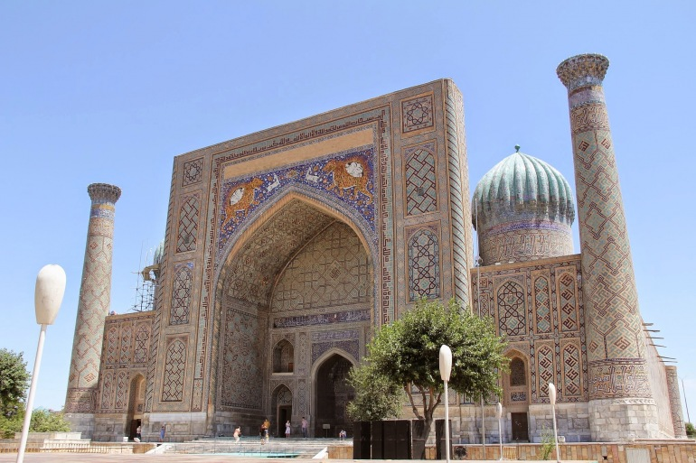 Historical Mosque of Samarkand, Uzbekistan