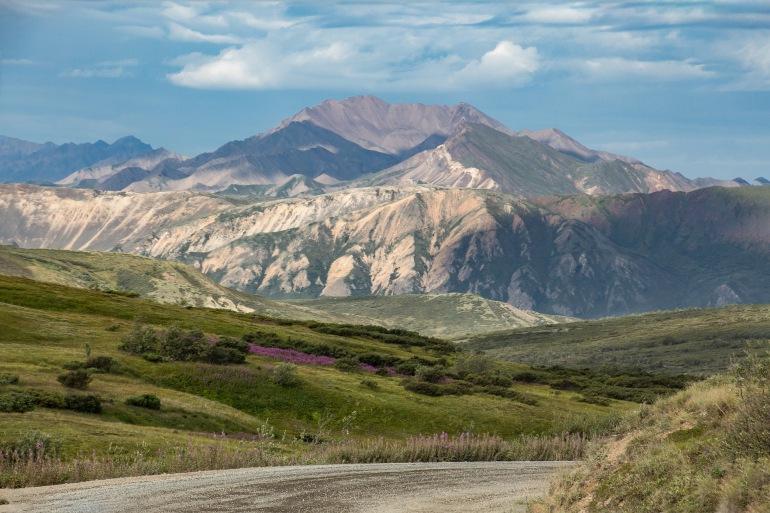 Mountain view of Denali National Park-Alaska-3335260-P