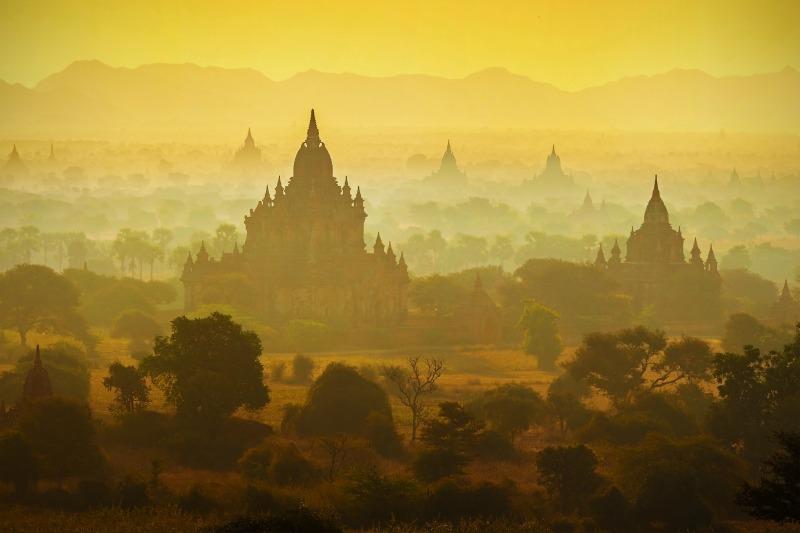 temples, Burma