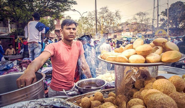Agra Delhi India on a Shoestring Trip