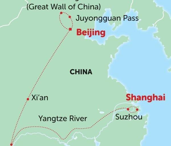 Beijing Shanghai China Delights Trip